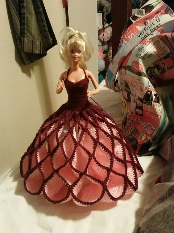 crochet doll dress ideas 7