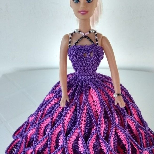 crochet doll dress ideas 8