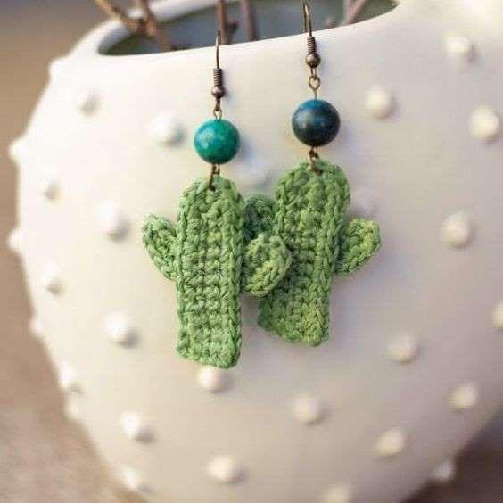 crochet earrings ideas and tutorials 1