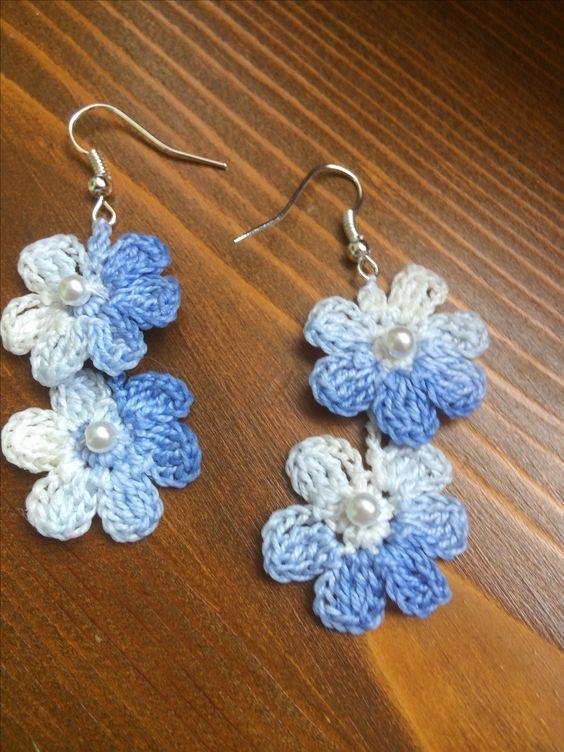 crochet earrings ideas and tutorials 8