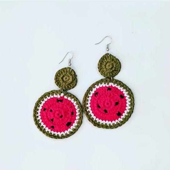 crochet earrings ideas and tutorials