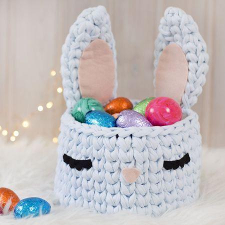 crochet easter basket 1