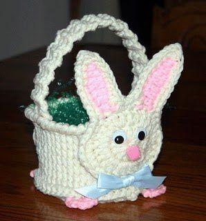 crochet easter basket 11