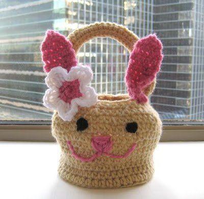 crochet easter basket 4