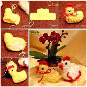 crochet easter chicken ideas 10