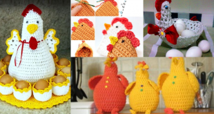 crochet easter chicken ideas