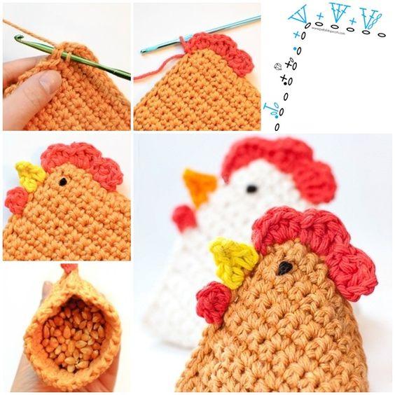 crochet easter chicken ideas 5