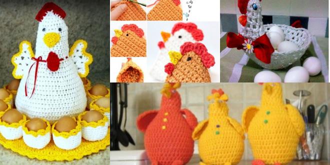 crochet easter chicken ideas