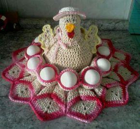 crochet easter chicken ideas 8