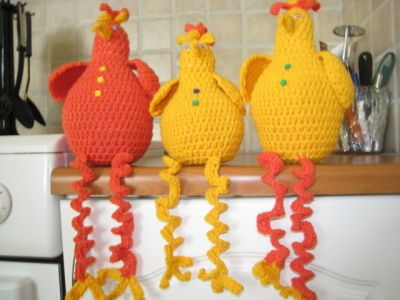 crochet easter chicken ideas 9