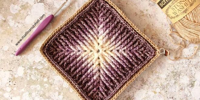 crochet element
