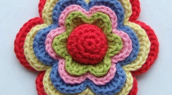 crochet flower pattern01