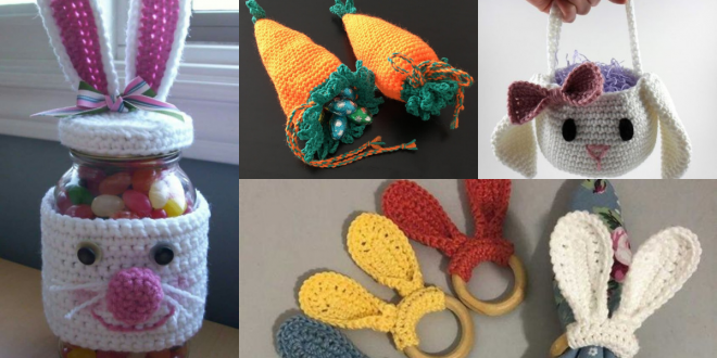 crochet for easter ideas and patterns