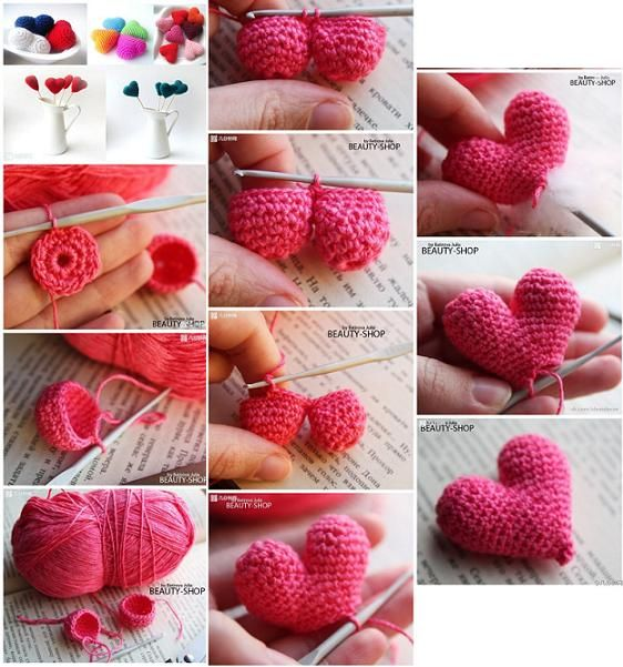crochet heart tutorial 4