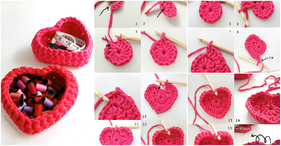 crochet heart tutorial 9