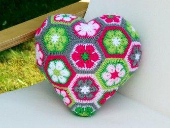 crochet hexagons tutorial ideas 1