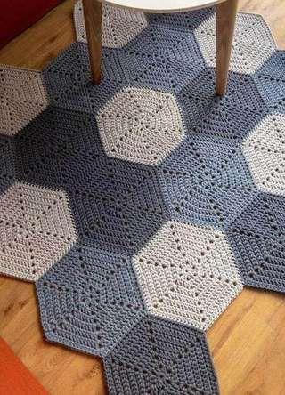crochet hexagons tutorial ideas 8
