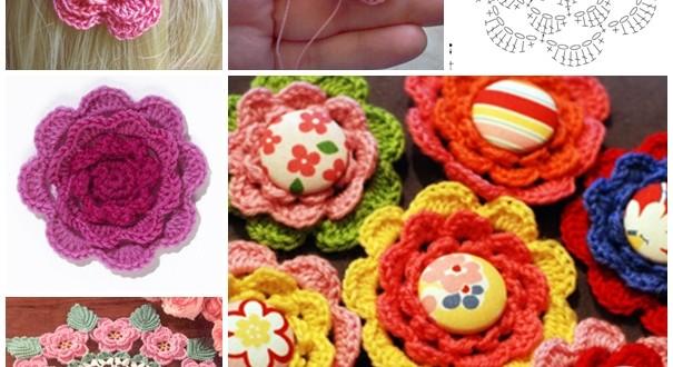 crochet irish rose