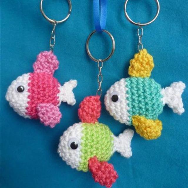 crochet keychain 10