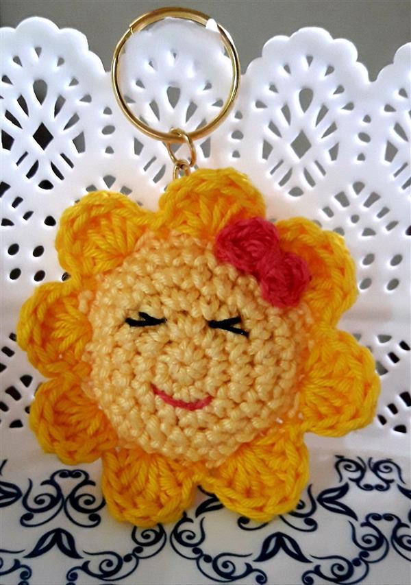 crochet keychain 12