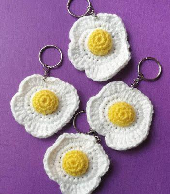 crochet keychain 15