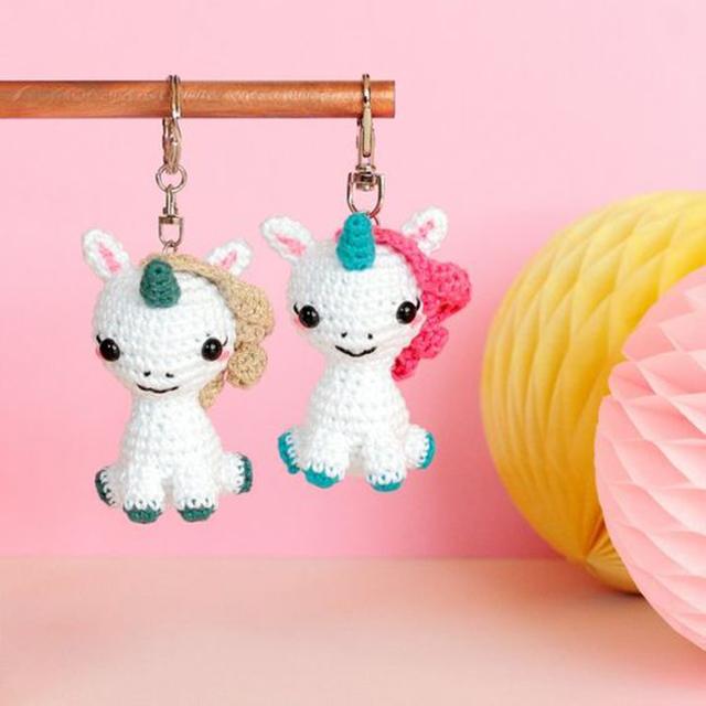 crochet keychain 3