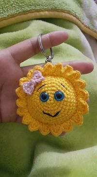 crochet keychain 4
