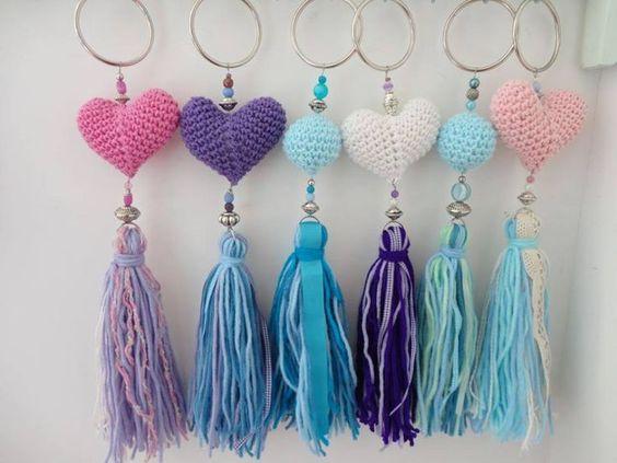 crochet keychain 5