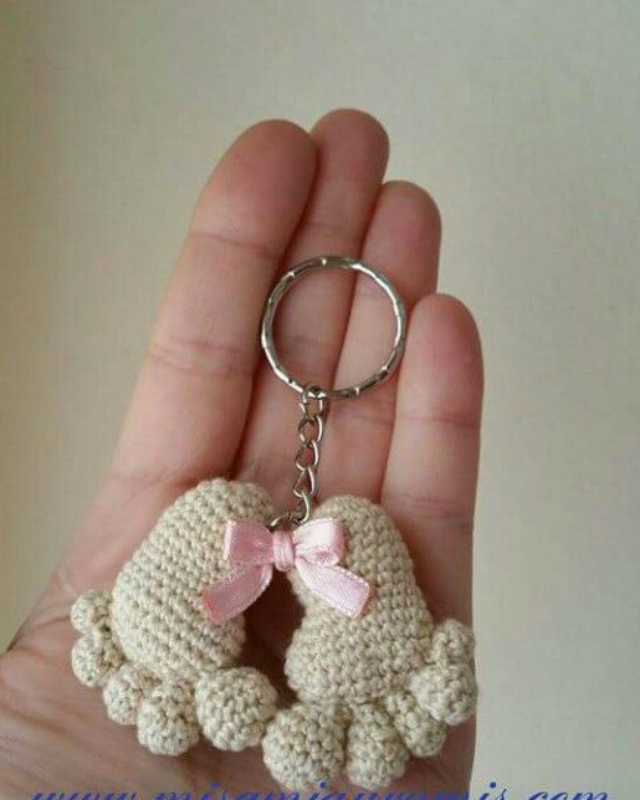 crochet keychain 9