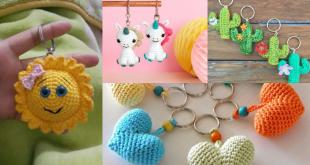 crochet keychain pattern ideas