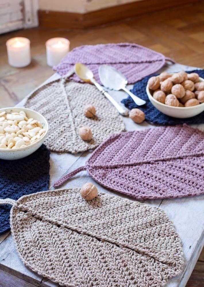 crochet leafs pattern ideas 2
