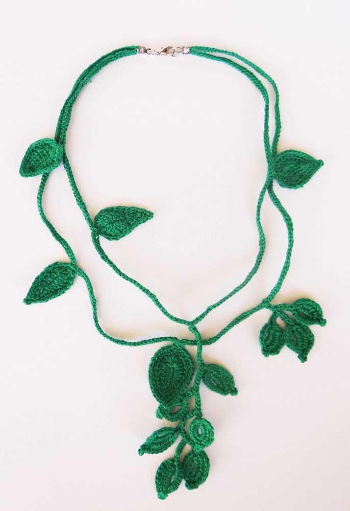 crochet leafs pattern ideas 4