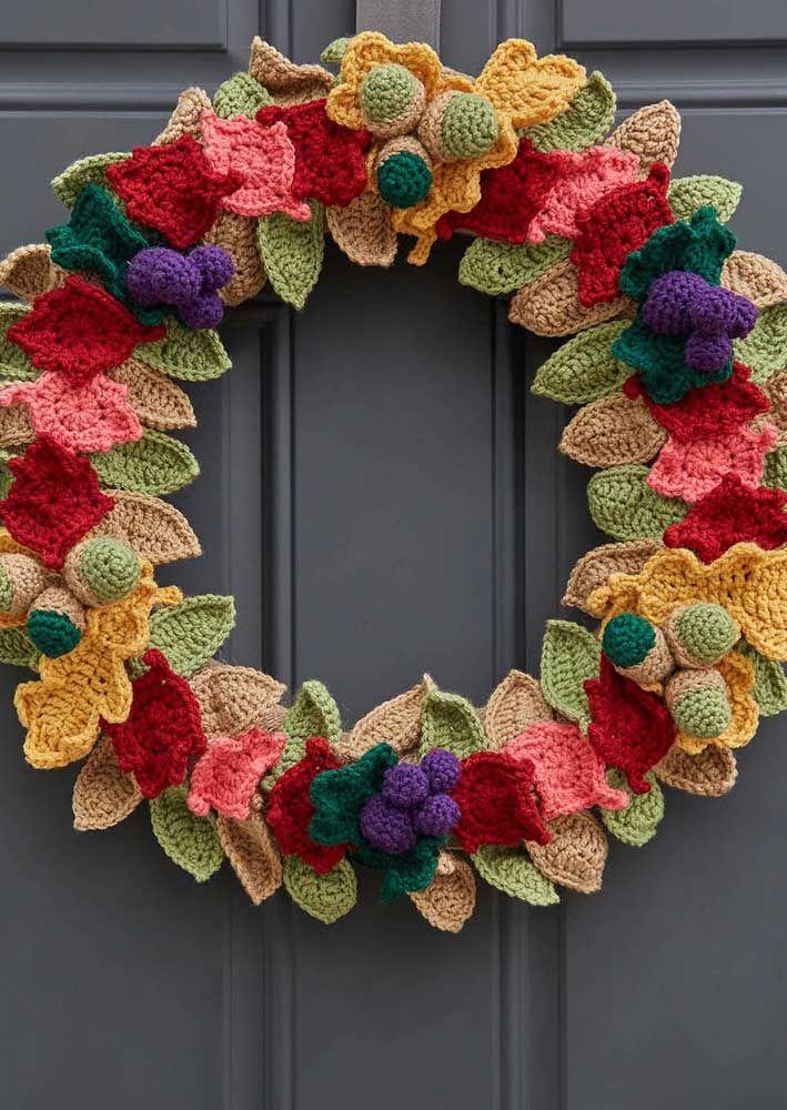 crochet leafs pattern ideas