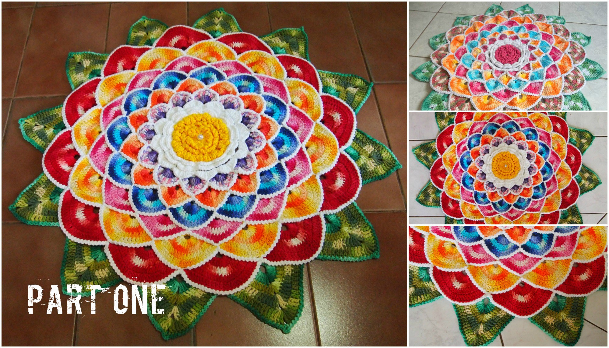 Lovely Fl Rug Mandala Video Tutorial