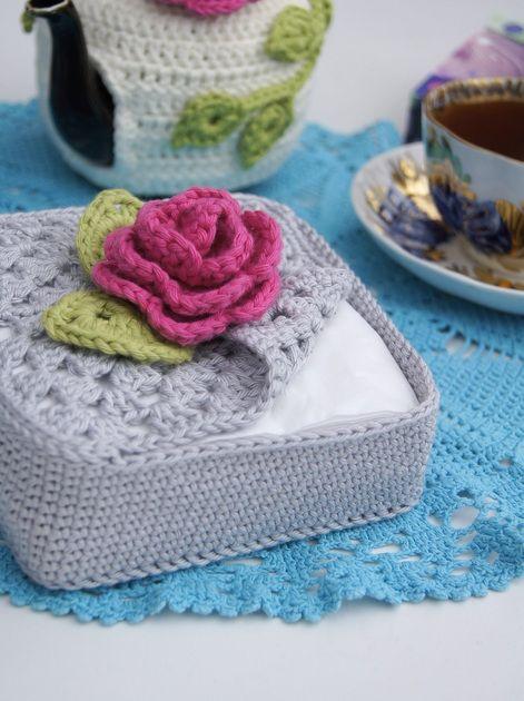 crochet napkin holders ideas 12