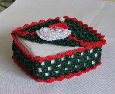 crochet napkin holders ideas 6
