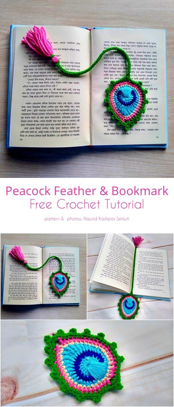 crochet peacock patterns 1