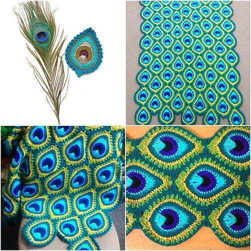 crochet peacock patterns 10
