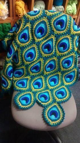 crochet peacock patterns 3