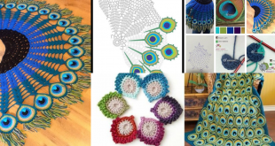 crochet peacock patterns