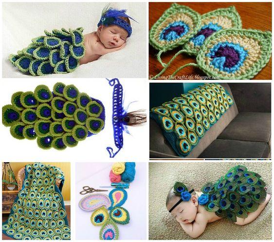 crochet peacock patterns 8