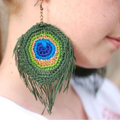 crochet peacock patterns 9