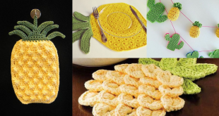 crochet pineapple tutorial ideas