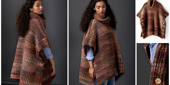 crochet poncho fall