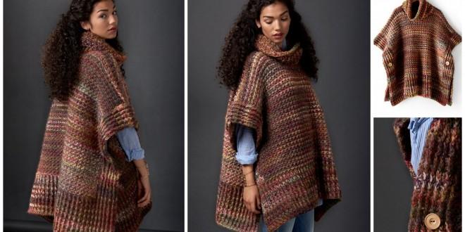 crochet poncho fall