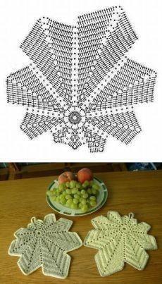 crochet potholders tutorial ideas 2