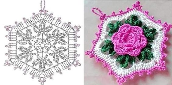 crochet potholders tutorial ideas 6