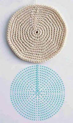 crochet potholders tutorial ideas 7