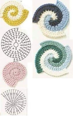 crochet potholders tutorial ideas 8