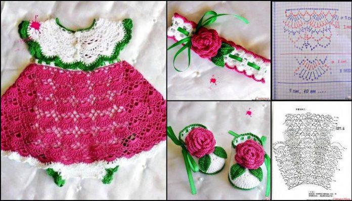 crochet princess dress 10